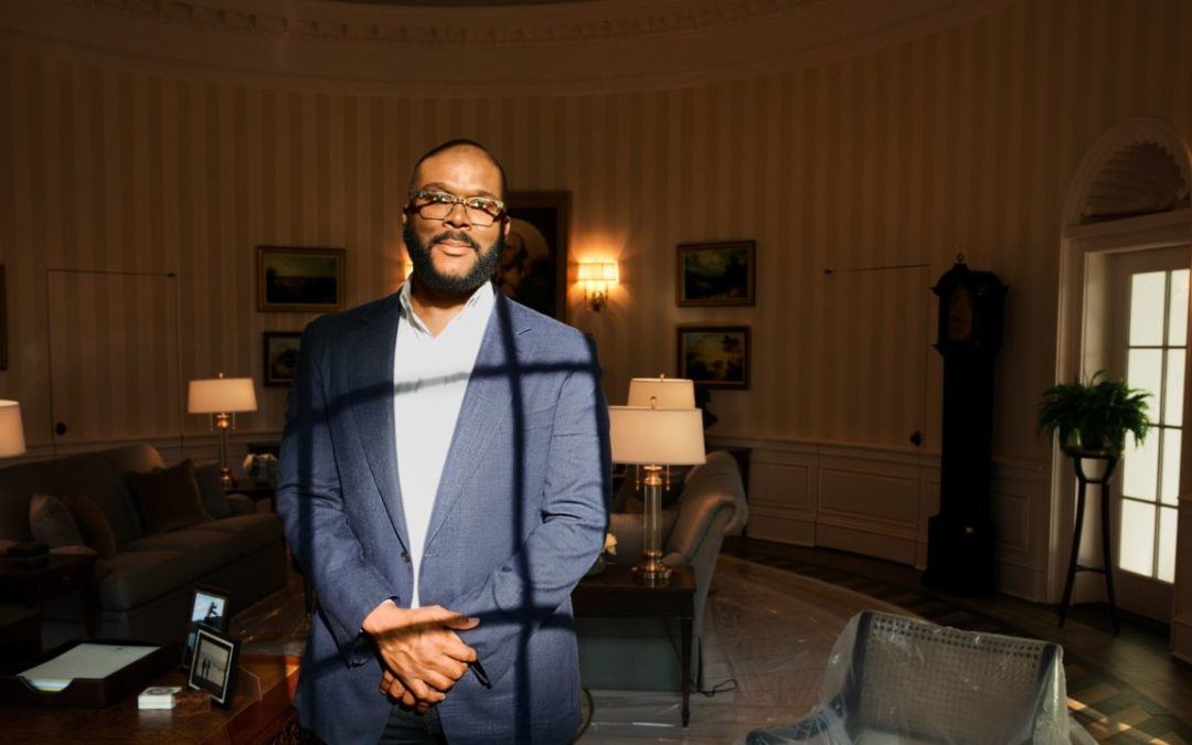 Tyler Perry's new 330-acre film compound is the largest in the nation
