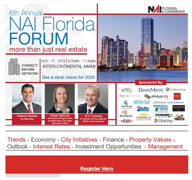 6th Annual NAI Florida and the Caribbean Forum