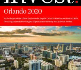 Invest Orlando 2020 Book Cover
