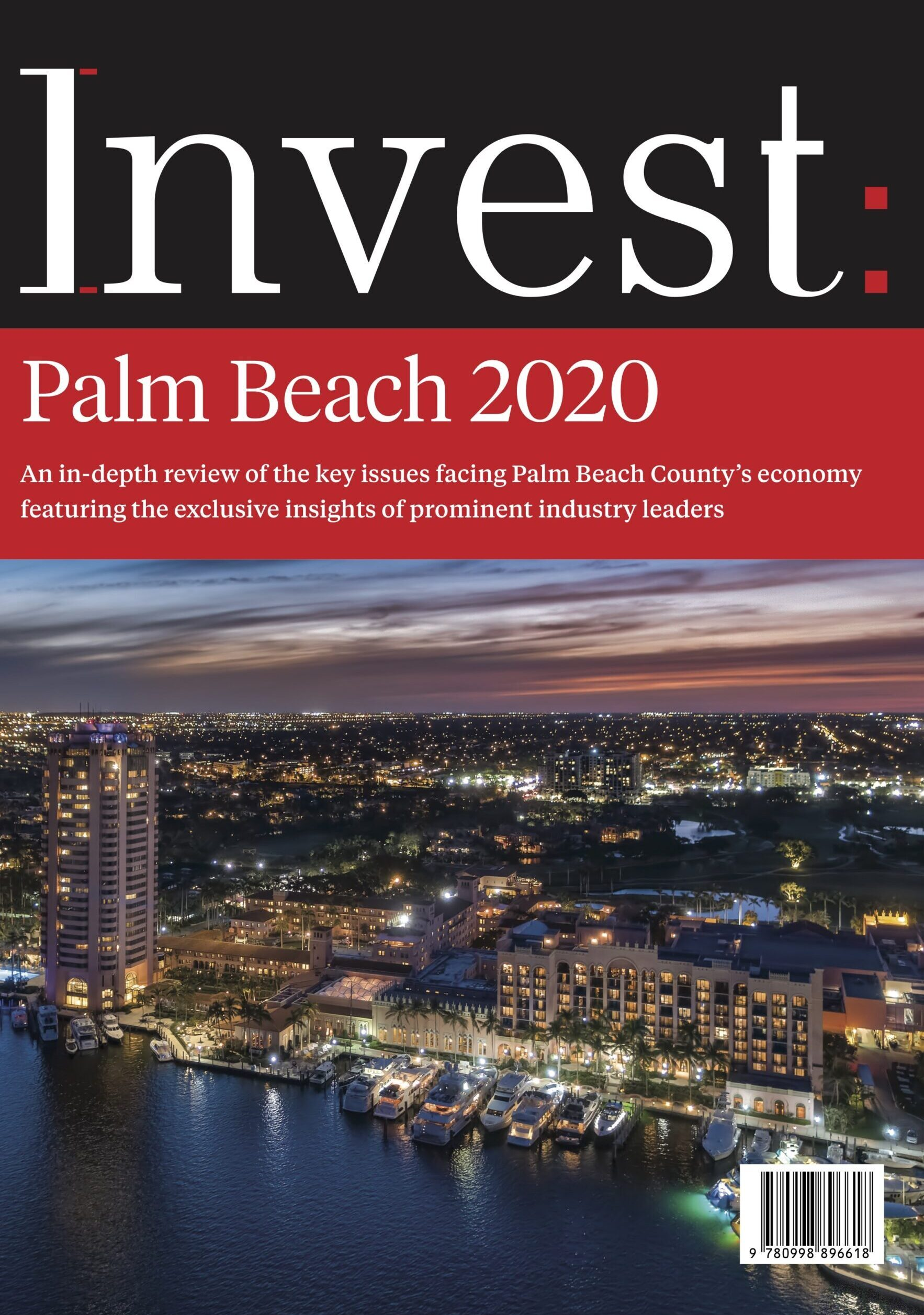 Invest Palm Beach 2020 Cover