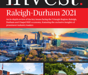 Invest Raleigh-Durham 2021 Cover