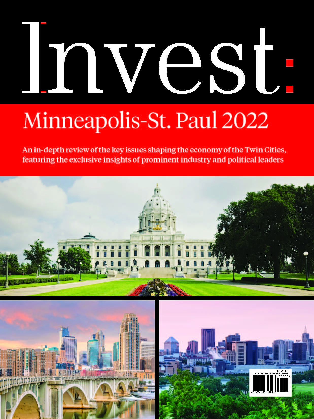 Invest Minneapolis-St. Paul 2022 Complete Cover Option 1