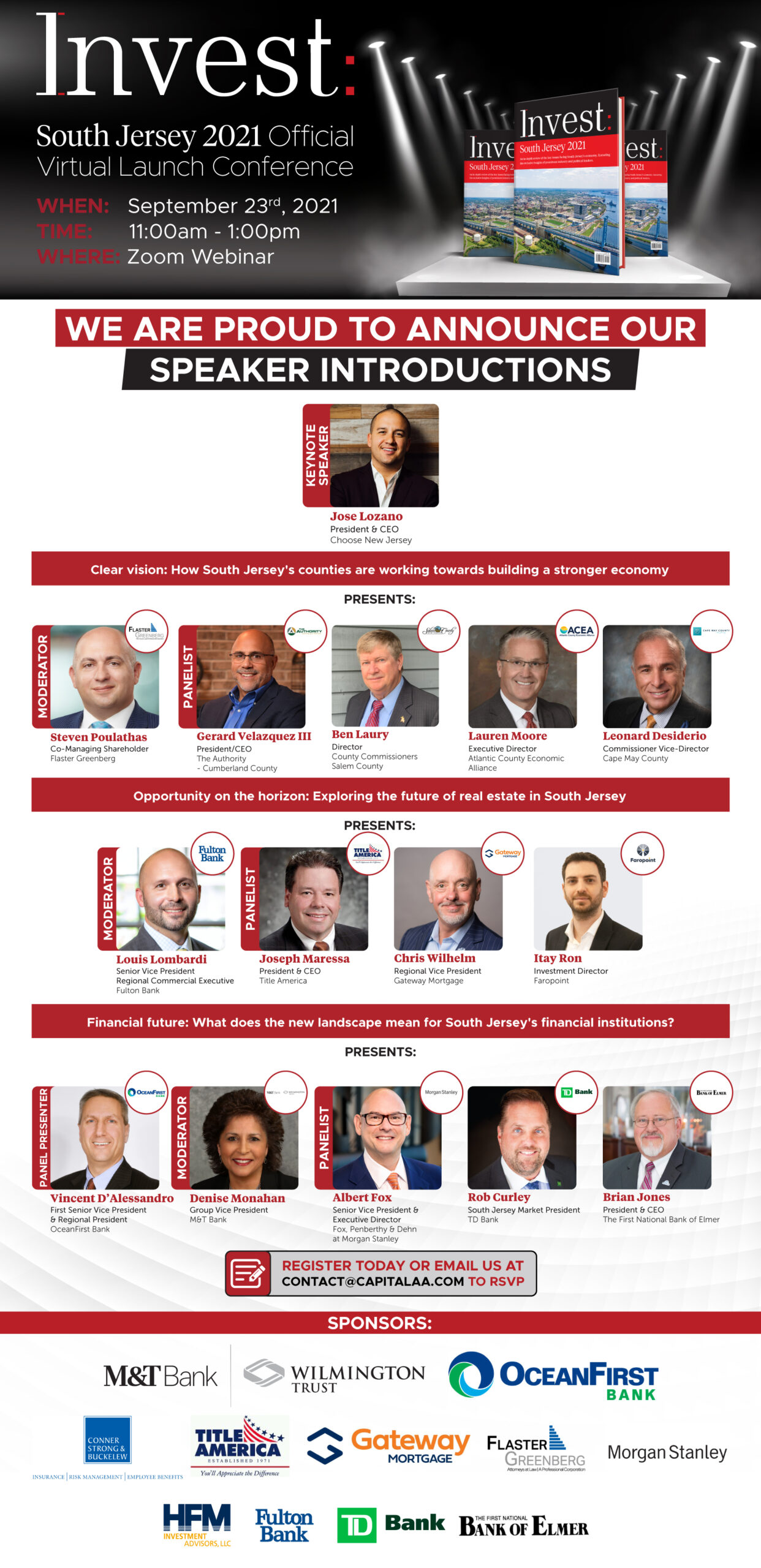 invest: south jersey conference